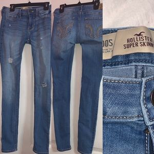 Hollister women's  00s super skinny jeans
